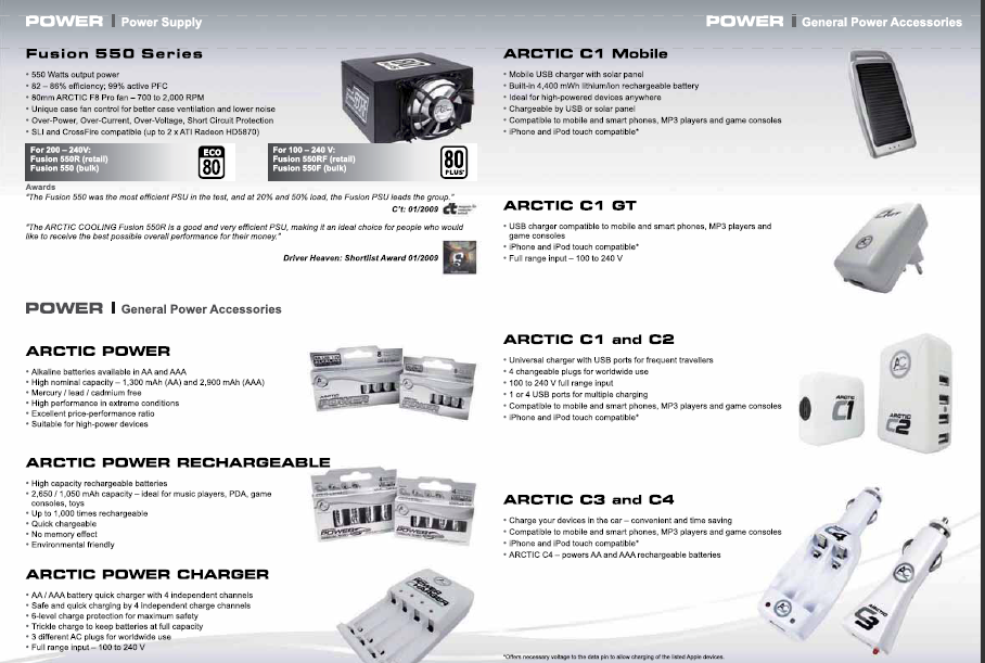 ARCTIC Displays Wide Range of Products at Gamescom 2010