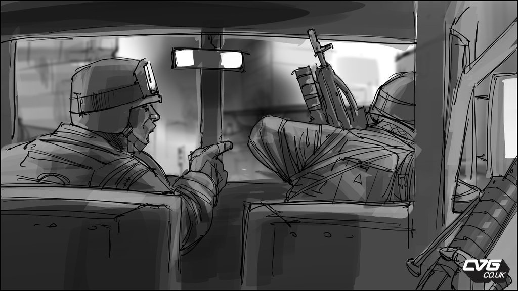 Ea Releases New Battlefield 3 Concept Art Storyboards And