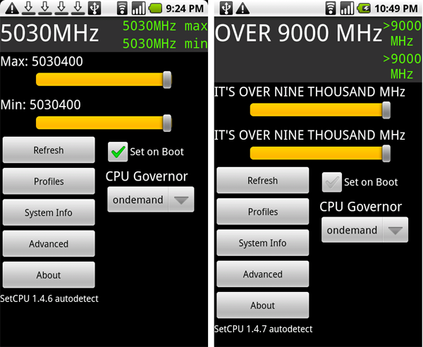 Nexus One Overclock