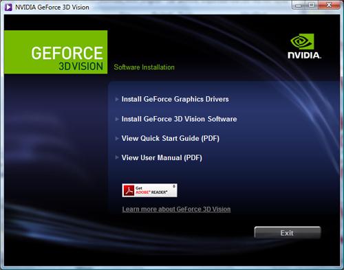 Nvidia 3D Drivers
