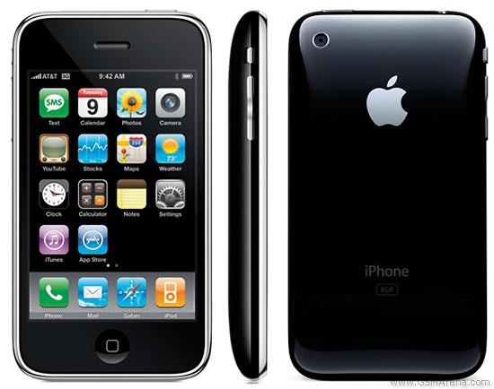 The evolution of the iPhone then and now