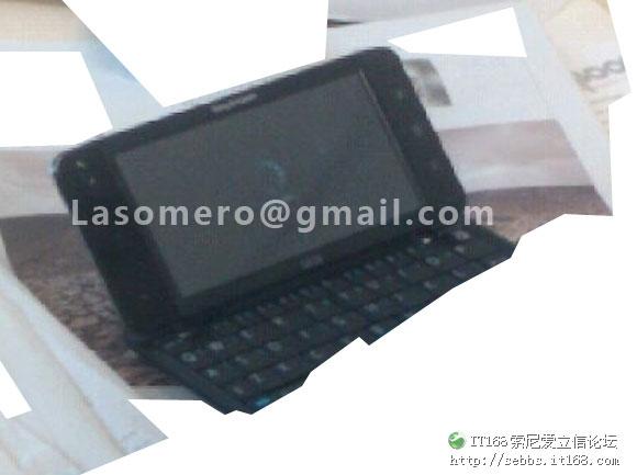 SonyEricsson tablet