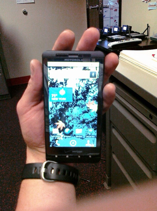 Motorola Droid Shadow