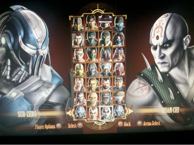 Mortal Kombat 9 character list has been confirmed