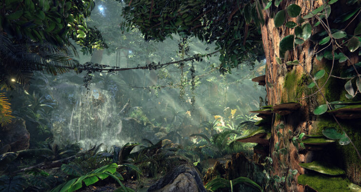 unreal-engine-4-quixels-jungle-environment-8