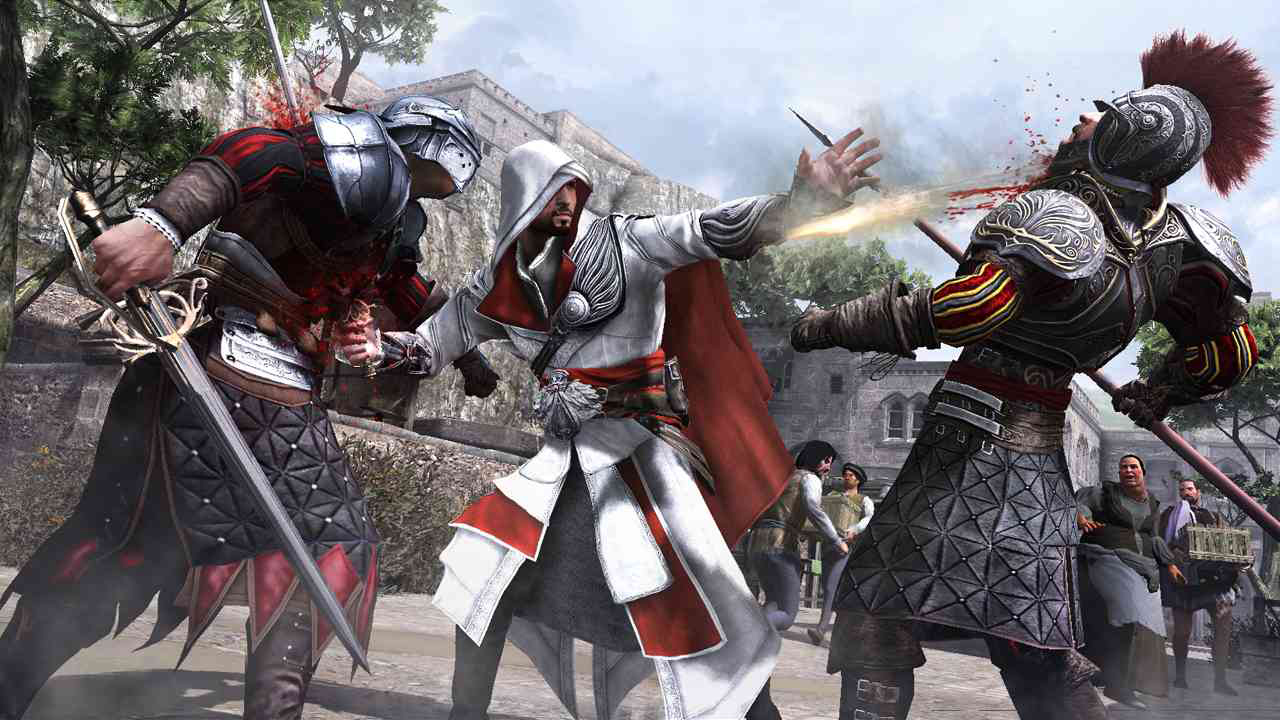 Assassin S Creed The Ezio Collection New Trailer Compares Ps4