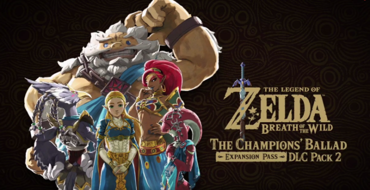 Zelda Breath Of The Wild The Champions' Ballad