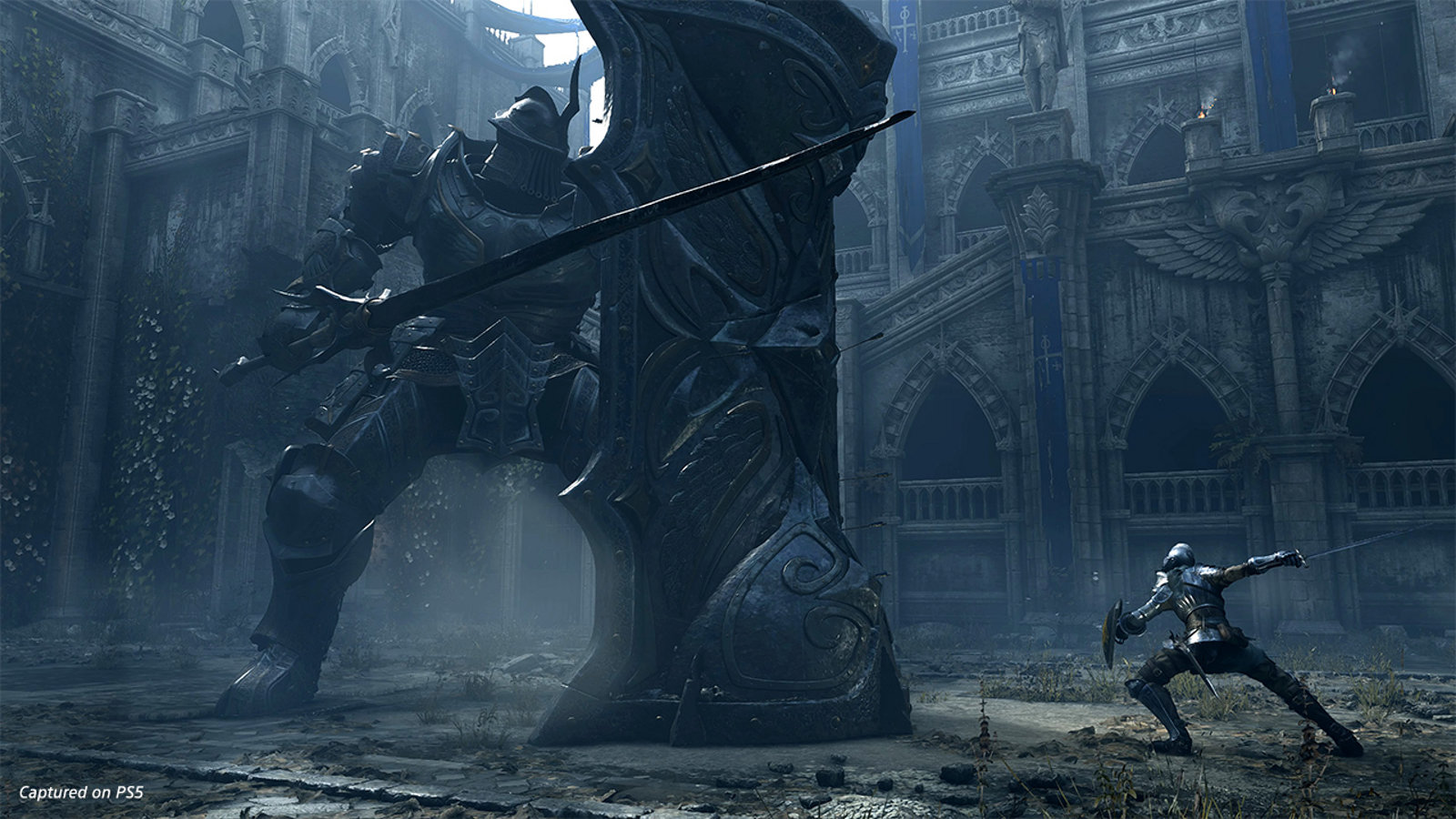 Demon S Souls Remake New Screenshot Showcases Masterful Recreation Of The Tower Knight