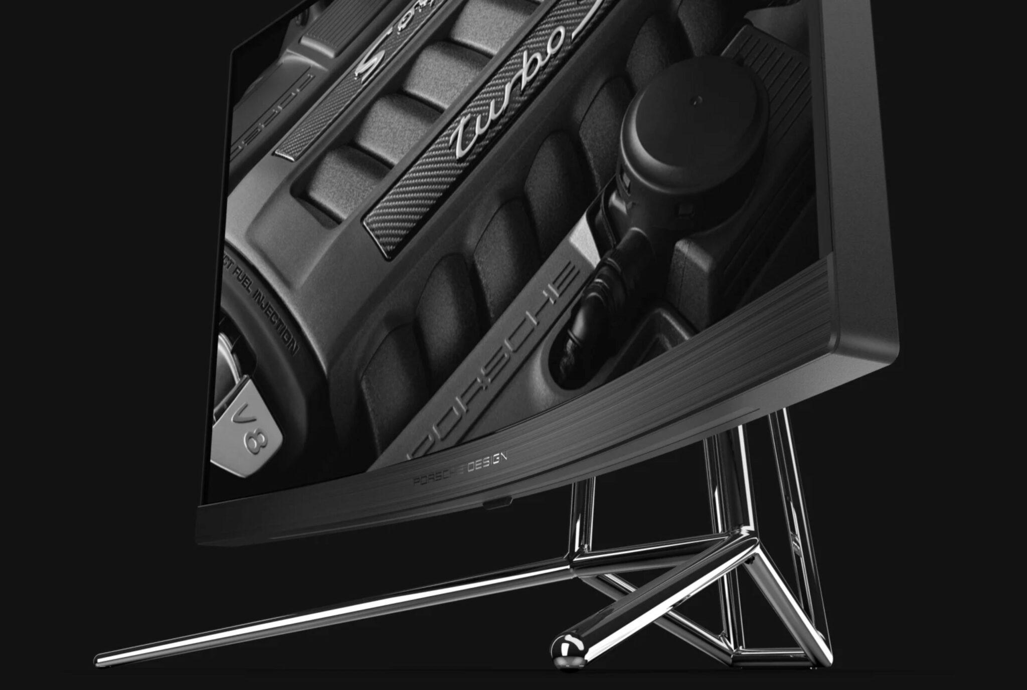 AOC & Porsche Partner to Create the Porsche Design AOC AGON PD27 Monitor